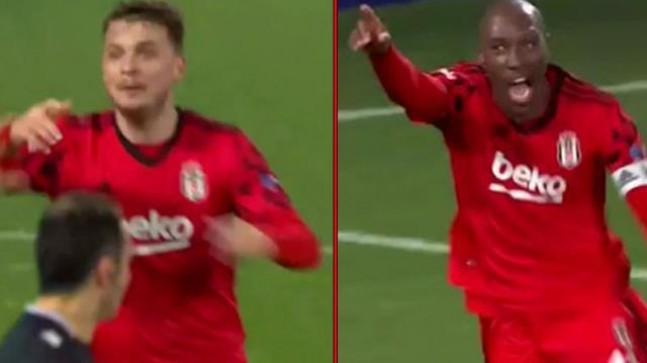 Beşiktaş'ın iki golü VAR'a takıldı! Ljajic ve Atiba'nın sevinci yarım kaldı